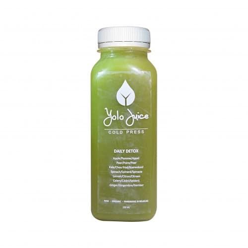 daily detox est un jus vert détoxifiant