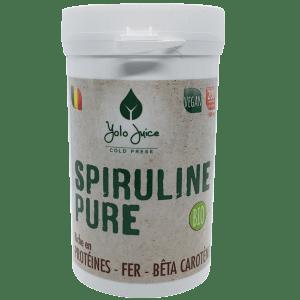 Spiruline pure contenant 200 comprimés